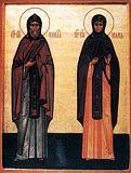прпп. Кирил і Марія, батьки прп. Сергія Радон.